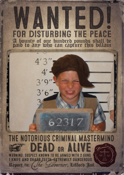 Old style Wanted Poster