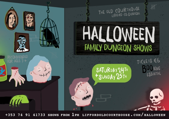 Halloween family dungeon shows WEB