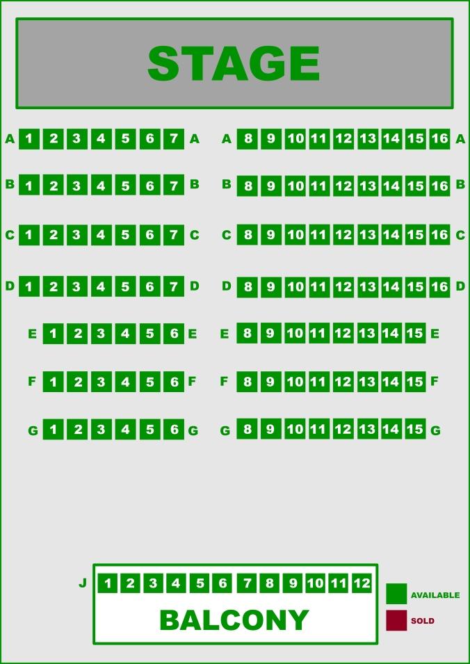 1798 seating plan