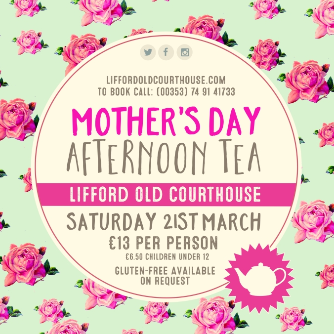 mothers day afternoon tea 2020